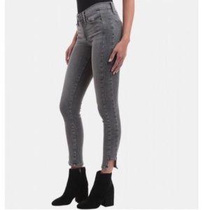 Frame Denim Le Skinny Side Step Highline Jeans 25
